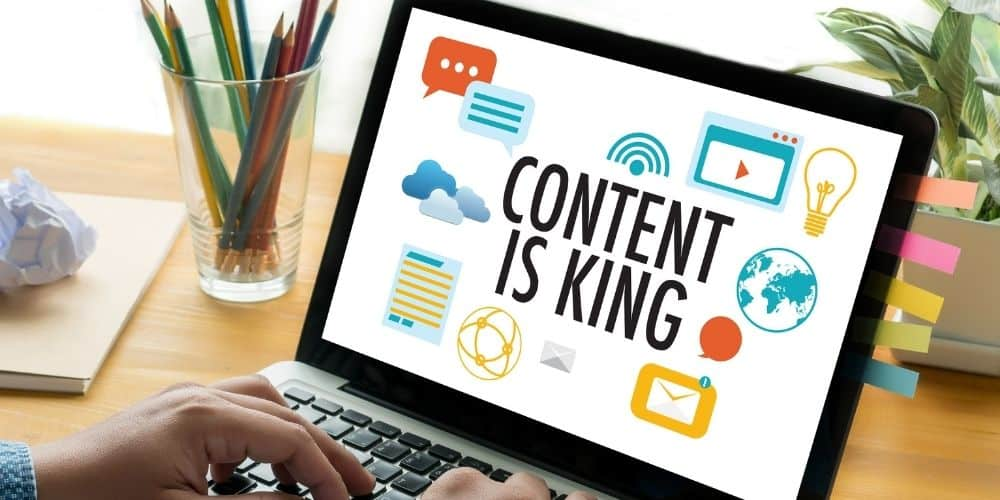 Content is king but does it always give #1 search engine rankings?