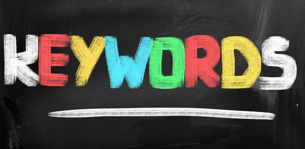 Target keywords that make sense for your content and website